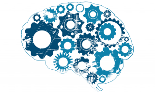 Foto demonstrando que a mente com engrenagens simbolizando a hipnose como uma ferramenta do cérebro