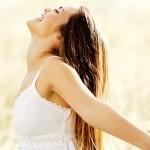 Foto mostrando felicidade, prazer
