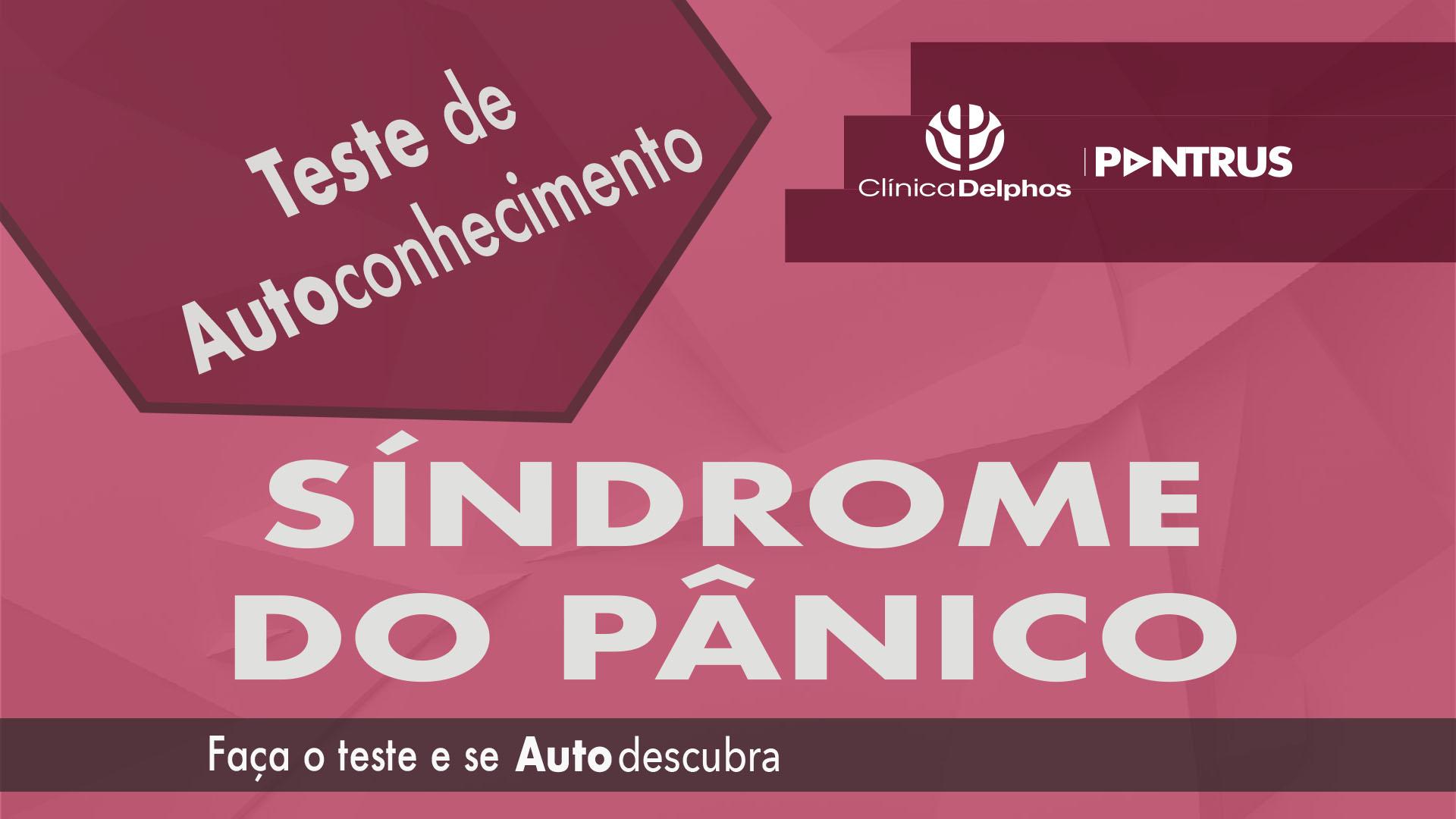 Teste Síndrome do Pânico