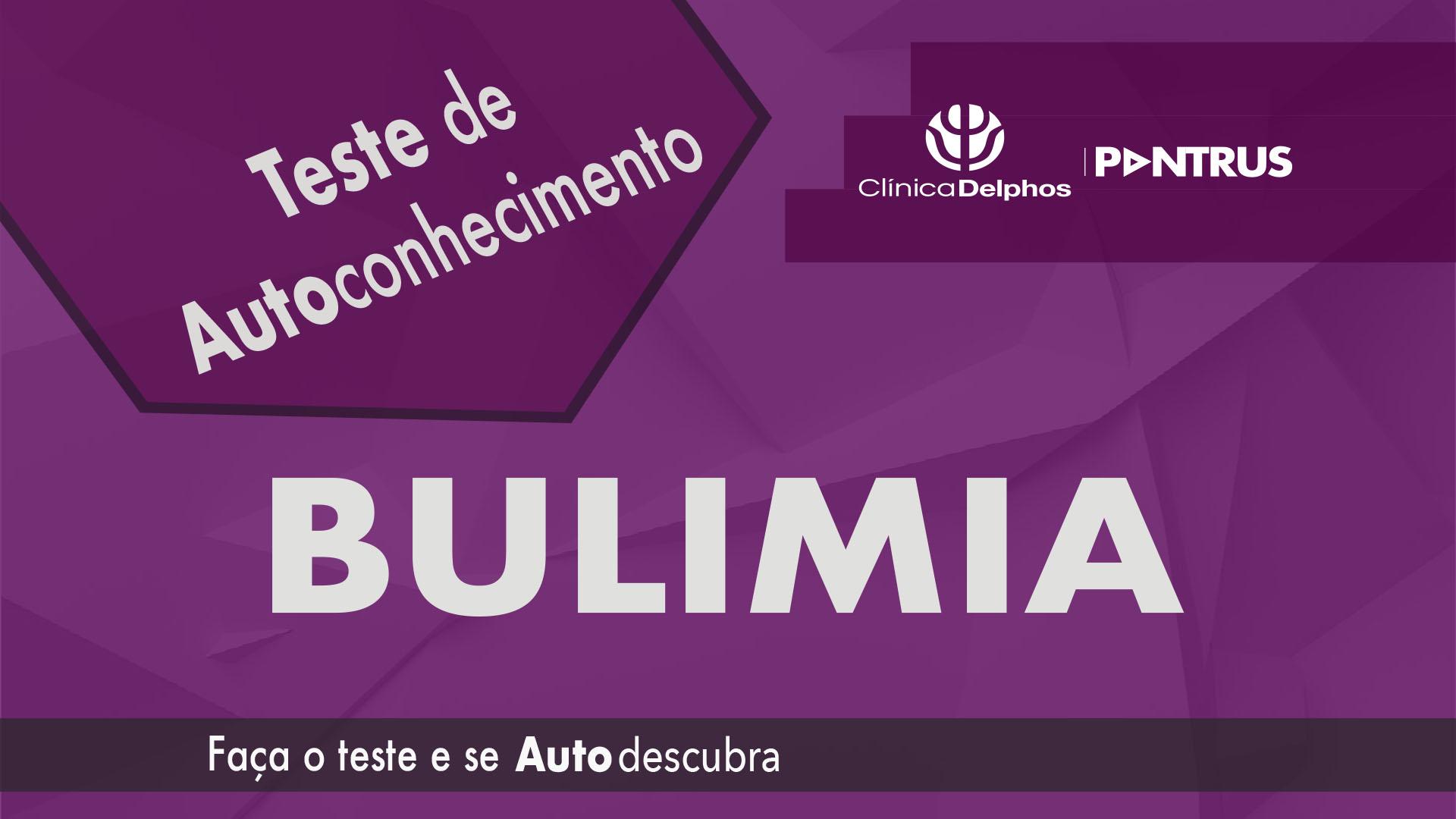Teste Bulimia Nervosa
