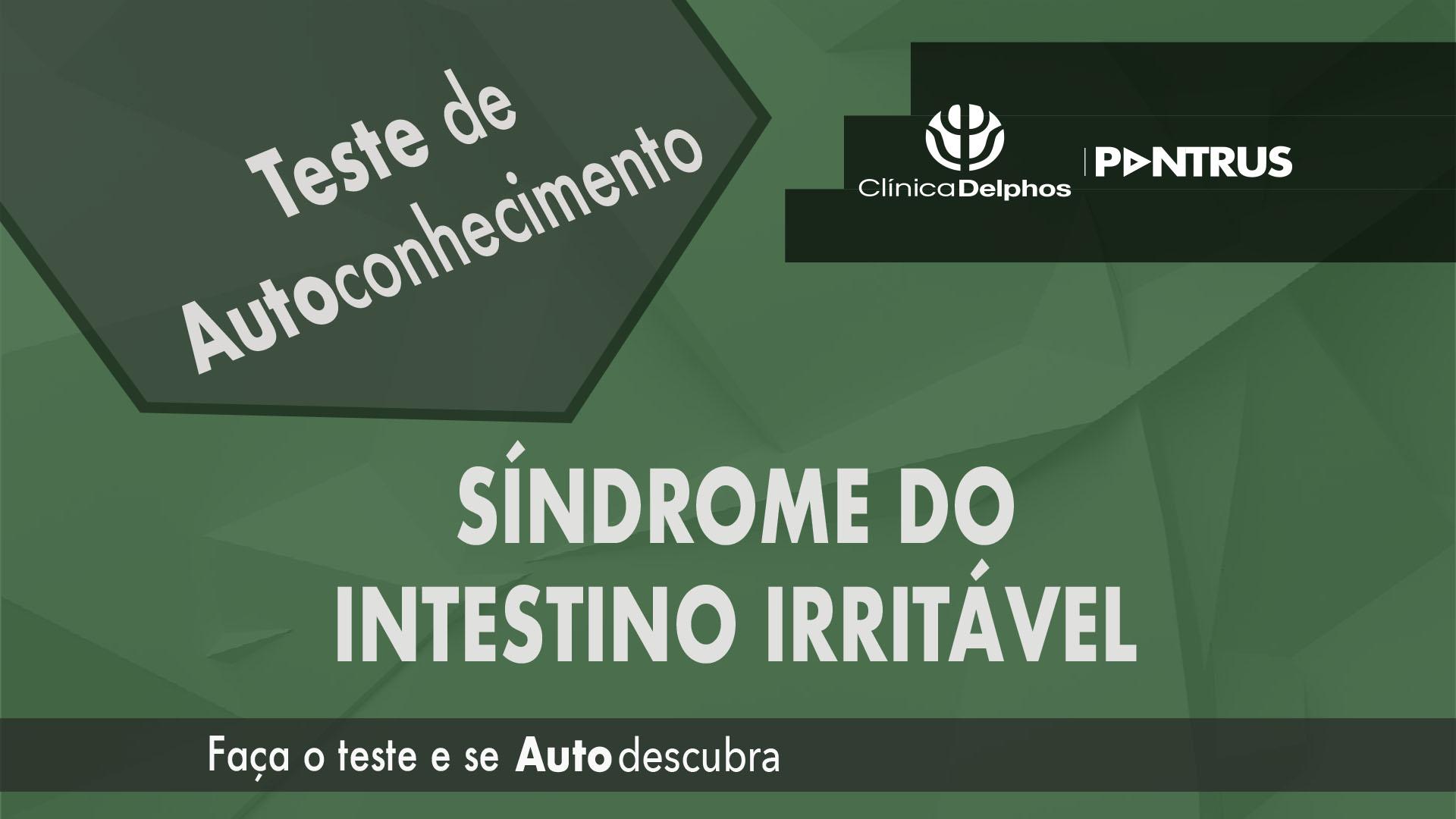 Teste Síndrome do Intestino Irritável